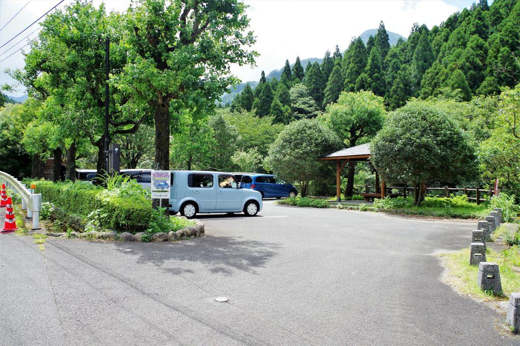 黒木渓谷駐車場