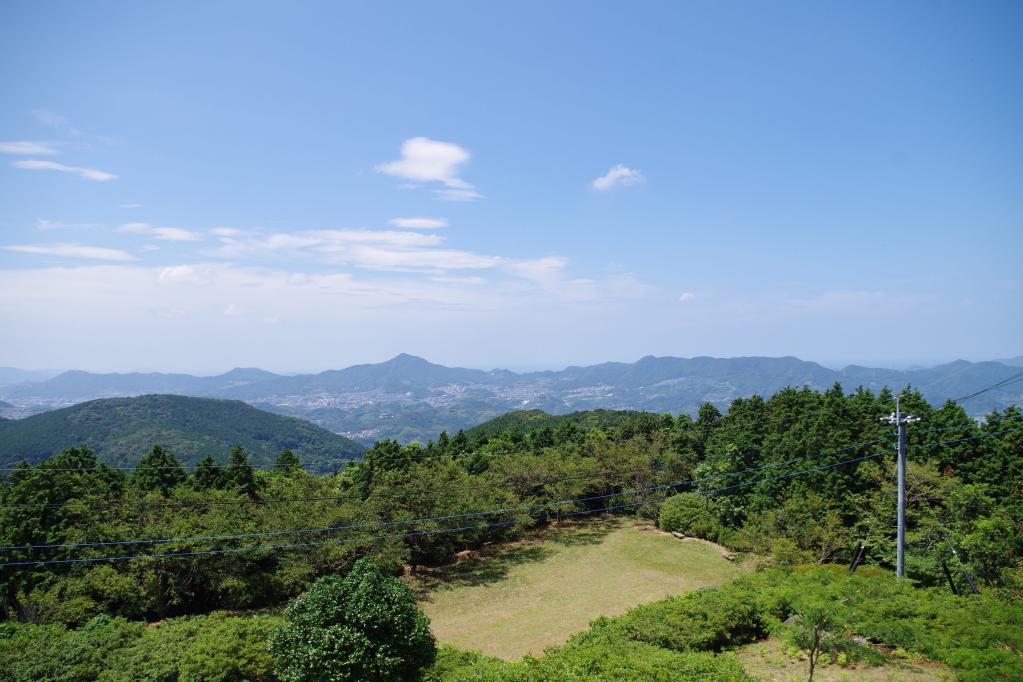 琴の尾岳展望台