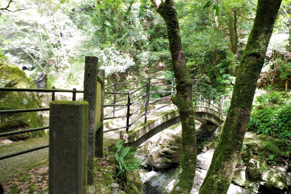 轟の滝入り口